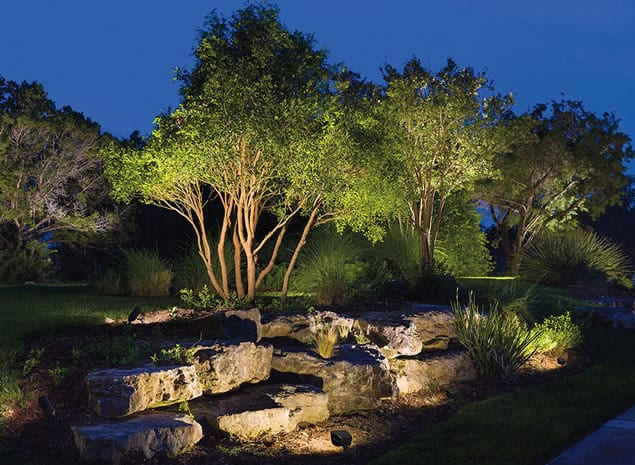 Landscape Lighting Phoenix Landscapes Midland Mi